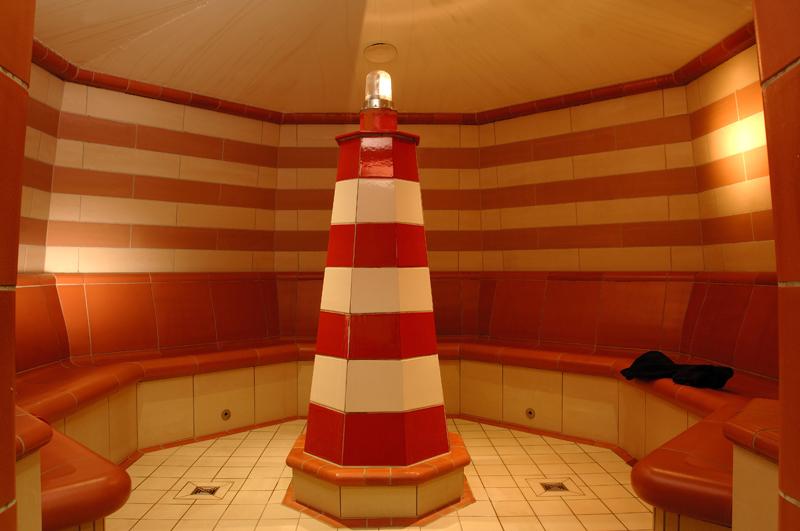 Dampfbad Leuchtturm