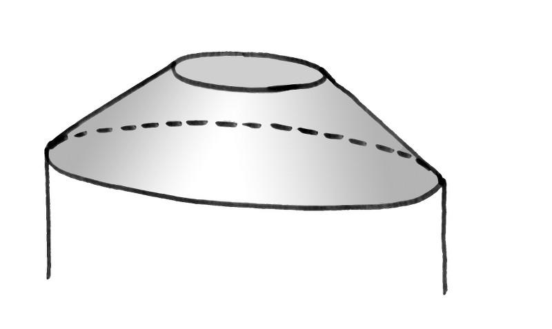 Deckenform_Dampfbad_Kegelstumpf
