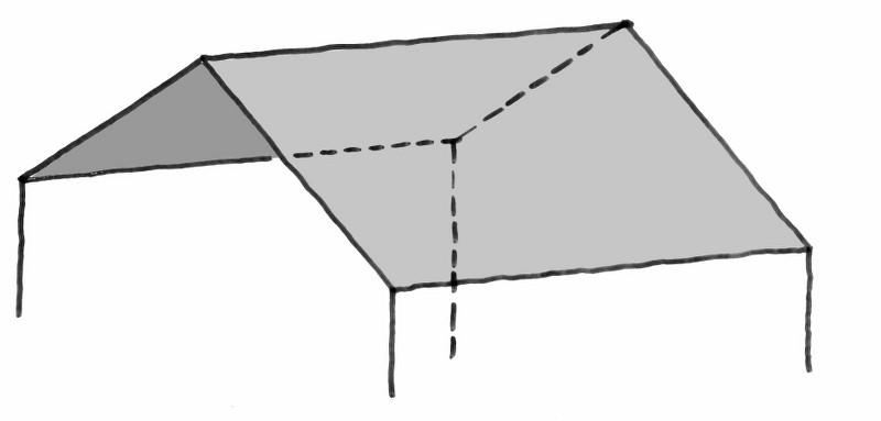 Deckenform_Dampfbad_Satteldach