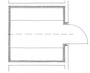 Kabinenkonstruktion: eingebaut